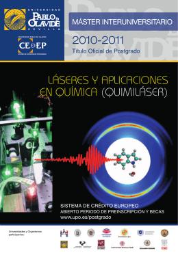 Láseres y Aplicaciones en Química