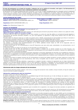 Folleto CNMV (Completo)