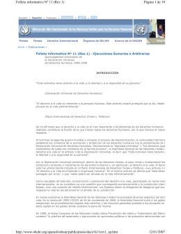 Página 1 de 10 Folleto informativo Nº 11 (Rev.1) 12/01/2007 http