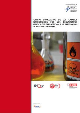 folleto divulgativo de los cambios introducidos por los reglamentos