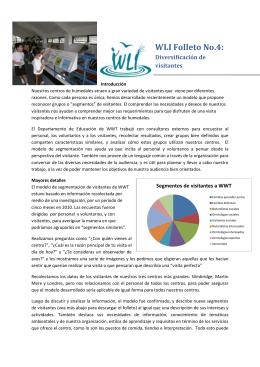 WLI Folleto Informativo 4 – Análisis de Visitantes