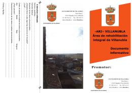 Folleto informativo ARI Villanubla