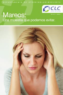 Folleto Mareo - Clínica Las Condes