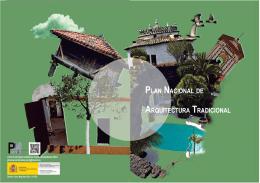 Folleto del Plan Nacional de Arquitectura Tradicional