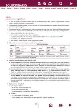 Lengua Castellana y Literatura I