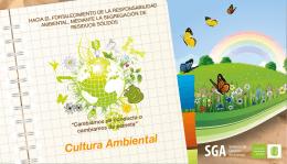 folleto cultura ambiental - Universidad Industrial de Santander