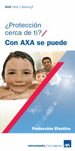 folleto - Seguro de Vida | AXA