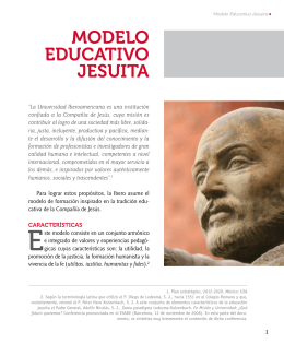 Modelo Educativo Jesuita-Folleto general