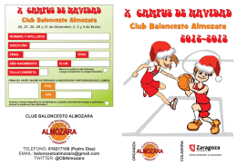 CLUB BALONCESTO ALMOZARA