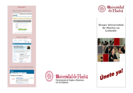 folleto publicidad grupo uhu linkedin