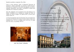 XVIII Encuentro Diocesano de Catequistas folleto[2]