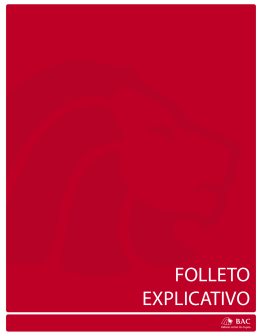 FOLLETO EXPLICATIVO