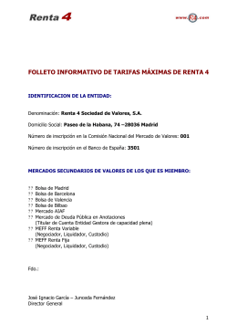 folleto informativo de tarifas máximas de renta 4