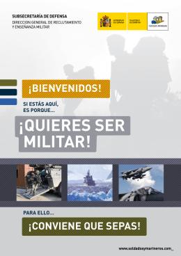 ¡QUIERES SER MILITAR! - Centro Universitario de la Defensa