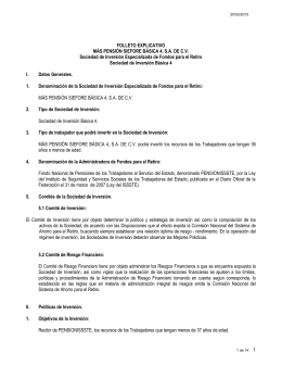 Folleto Pensionissste SB4