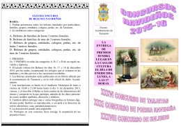 folleto concursos navidad 2015-16