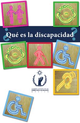 Folleto ¿Qué es la discapacidad? interiores.indd