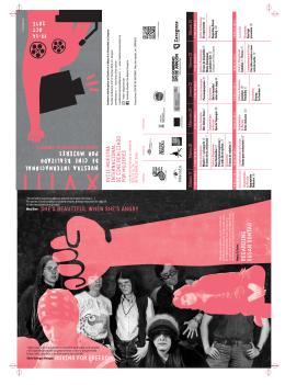 Folleto_2015 - Muestra Internacional de Cine realizado por Mujeres