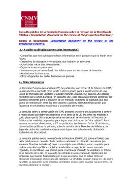 VACACIONES VERANO-BEGOÑA - Comisión Nacional del