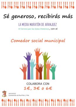 FOLLETO COMEDOR SOCIAL