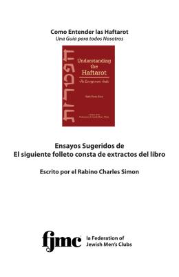 Ensayos Sugeridos de El siguiente folleto consta de extractos del libro