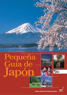 Folleto Guía de Japón
