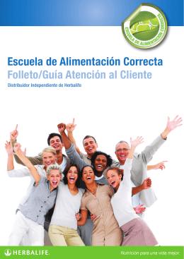 Folleto/Guía Atención al Cliente