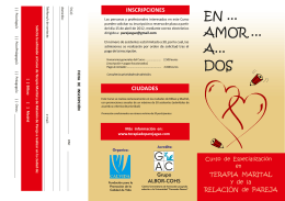 Folleto curso parejas