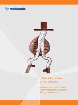 Folleto informativo para el paciente