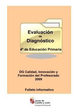 Folleto informativo Evaluación de Diagnóstico