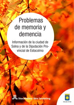 Problemas de memoria y demencia