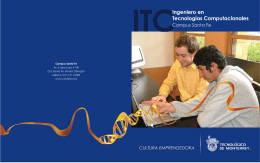 FOLLETO ITC02 - Campus Santa Fe