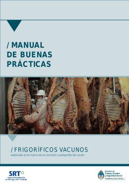 manual de buenas prácticas - Superintendencia de Riesgos del
