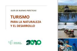 Turismo para la naturaleza y el desarrollo: Guía de buenas prácticas