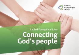 Connecting God`s people
