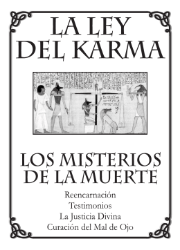 Folleto del Karma - Centro Gnóstico Anael