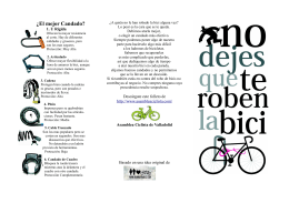 ¿El mejor Candado? - Asamblea Ciclista de Valladolid