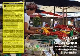 Comiendo utopías - Ecologistas en Acción