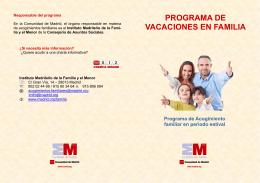 PROGRAMA VACACIONES EN FAMILIA 2014ok.pub