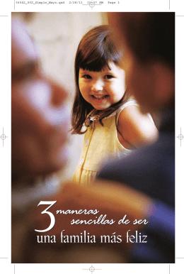 3 maneras sencillas de ser una familia más feliz