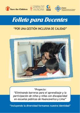 Cooperacion al desarrollo - Peru