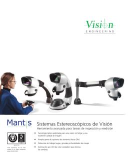 Mantis Family Brochure v3.2 Spanish, Latin American