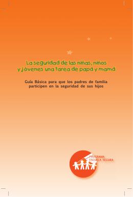 folleto padres seguridad escolar