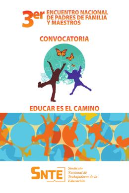 Folleto Convocatoria 3erEncuentro.indd