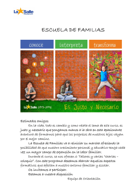folleto E. Familias 2015-16