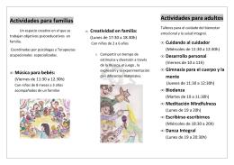EN familia - Centro Pignatelli