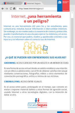 folleto internet segura