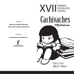 FOLLETO CACHIVACHES 2014