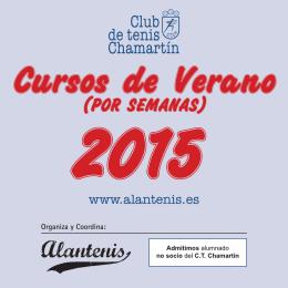 Folleto Curso de Verano 2015.indd