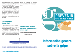 Folleto gripe pdf